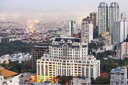 قیمت مسکن در ارزان ترین منطقه تهران ، نمودار قیمت مسکن در مناطق مختلف تهران