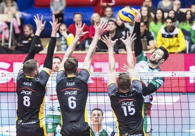 لیگ والیبال لهستان، دهمین پیروزی متوالی اسکرا در غیاب عبادی پور