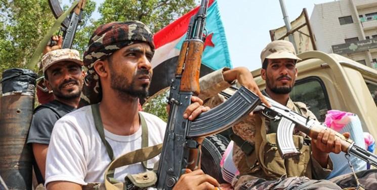 تقابل عناصر همسو با امارات با نظامیان سعودی در یمن